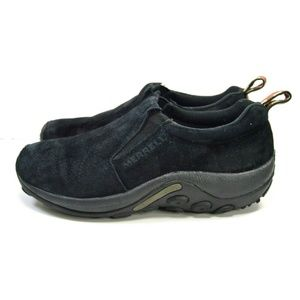 Merrell Ortholite Midnight Black Slip On Shoes